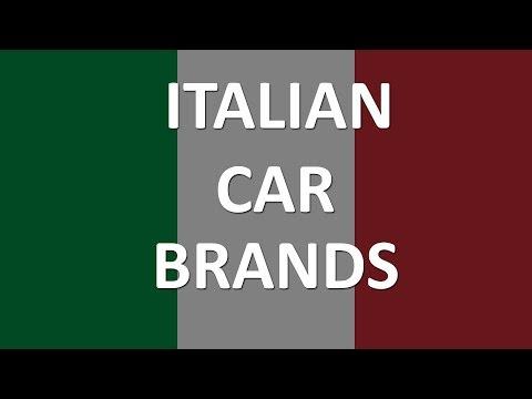 Italian Car Brands