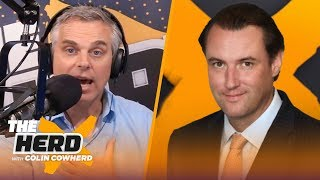Michael Mulvihill reveals the process of how the NFL schedule is created | NFL | THE HERD