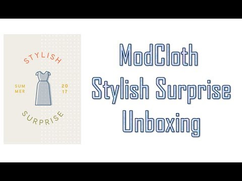 ModCloth Stylish Surprise Unboxing
