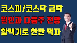 [주식][마감시황][국내증시급락이유][중국관련주 상승]…
