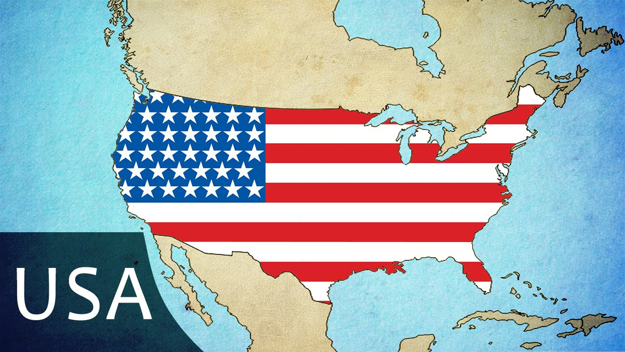 Expansion Of The United States Map  Present YouTube - Us map expansion