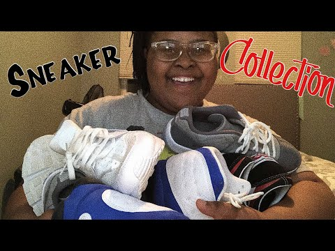 My Sneaker Collection 2018