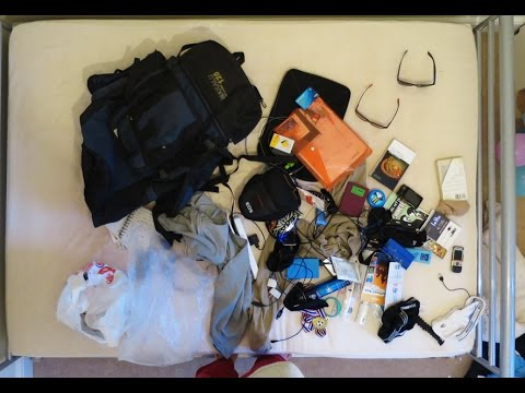 Emptying My Backpack After 1.5 Years Travelling