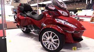2016 Can am Spyder RT Limited - Walkaround - 2015 Tokyo Motor Show