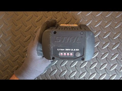 STIHL Rechargeable  Li-ion battery Teardown