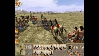 Troy Total War ,Custom Battle 3 - 2 vs 2  Rome Total War Mod