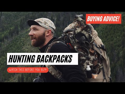 How To Choose a Hunting Backpack (BUYING ADVICE)