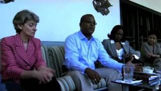 Irina Bokova  visits Haiti