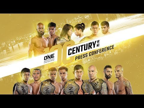 ONE Championship: CENTURY Press Conference