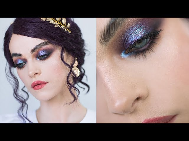 UNICORN TEARS - a relaxing duochrome make-up look
