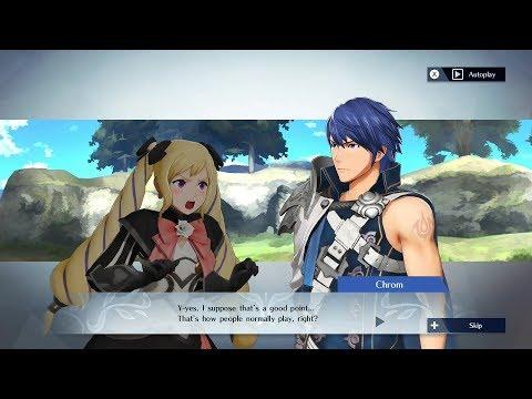 Fire Emblem Warriors - Elise & Chrom Support Conversation