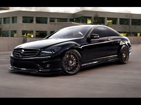 Chapparone Mercedes Benz Cl63 Amg With Hre Wheels Youtube