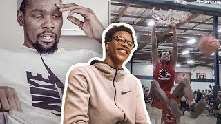 Shareef O'Neal REACTS To Kevin Durant Breaking Down His Game!
