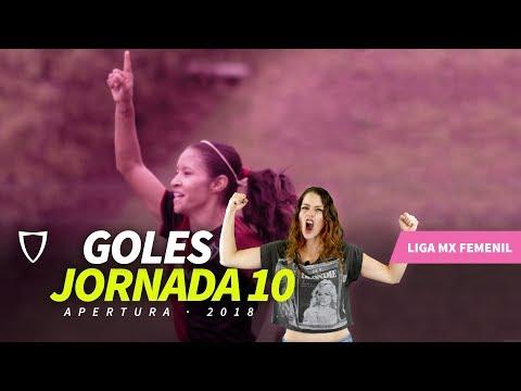 Resumen Goles Liga MX FEMENIL JORNADA 10 2018 - GOLAZO PATRICIA JARDÓN