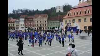 Brasov Piata Sfatului flashmob