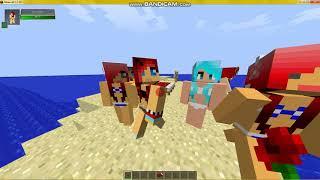 Танцы в моей кровати в Minecraft