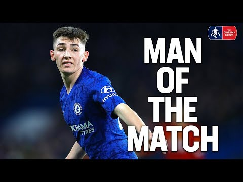 EVERY TOUCH   Billy Gilmour Impresses Vs Liverpool   Man Of The Match   Emirates FA Cup 19/20