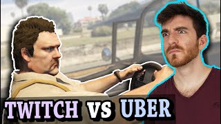 Can an Uber drive across GTA 5, if Twitch Chat controls the mods?