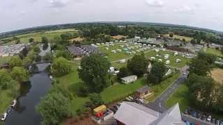 Aerial Views of Stratford Caravans Sites and the stunning Clubhouse and conferencing facilities.