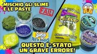 NON MISCHIARE BUTTER slime e PASTA CRUNCHY! Skifidol Butter Slime e Pasta Magica Crunchy! By Francy