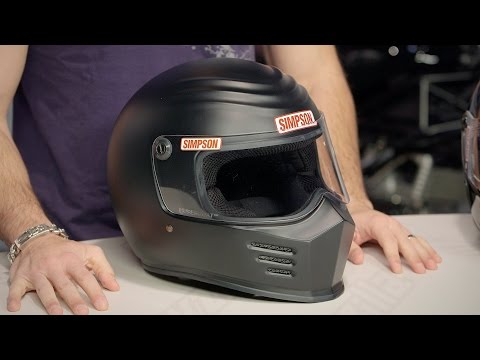Simpson Outlaw Bandit Helmet Review at RevZilla.com