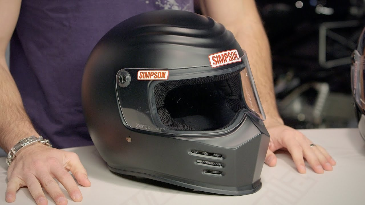 Simpson Outlaw Bandit Helmet Review At Revzilla Com Youtube