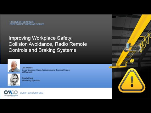Safety Webinar: Improving Workplace Safety - Collision Avoidance, Radios & Brake Products
