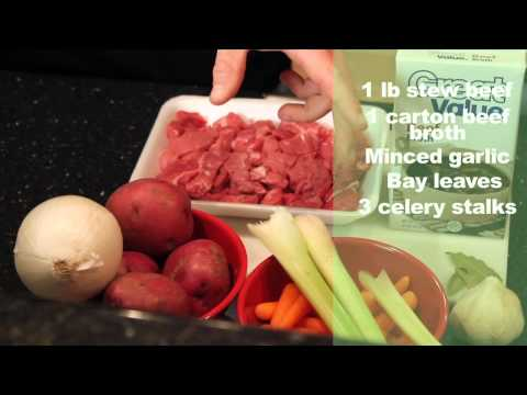 Video Crock Pot Recipe For Beef Stew - How To Make Beef Stew For Truck Drivers