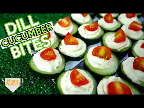 CUCUMBER BITES KIDS WILL LOVE! | Home Plates
