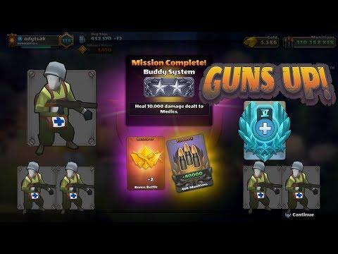 GUNS UP! - Medic Challenge!