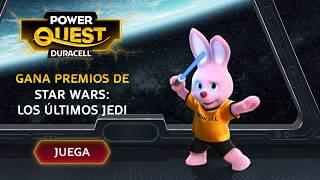 Juega al PowerQuest de Duracell y gana premios de la película Star Wars: Los últimos Jedi