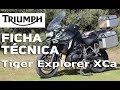 Ficha Técnica Triumph Tiger Explorer 2017