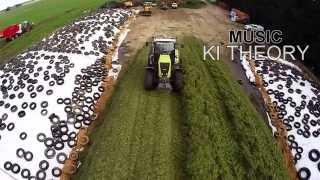 Silage Season 2015, Victoria Australia Claas, fendt, Tractor, Harvest