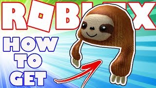 [BONUS ITEM] How To Get the Sloth Buddy Hat in Roblox - Bonus Catalog Item for Robux Card Purchase