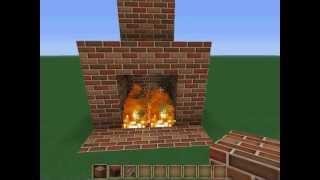 Minecraft Şömine Yapımı