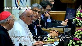 """Đức Giáo Hoàng: """"Từ trước đến giờ vẫn làm như vậy"""" là câu nói gây tổn hại cho Giáo hội"""