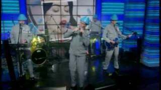 Devo - Whip it (Partial)(Live on Live! with Regis and Kelly) 6-18-10