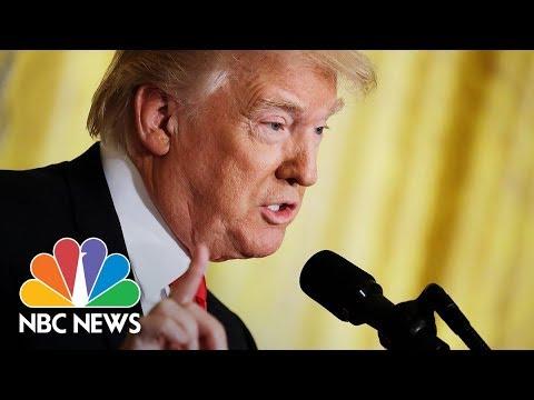 President Donald Trump Holds News Conference With President Sauli Niinistö   NBC News