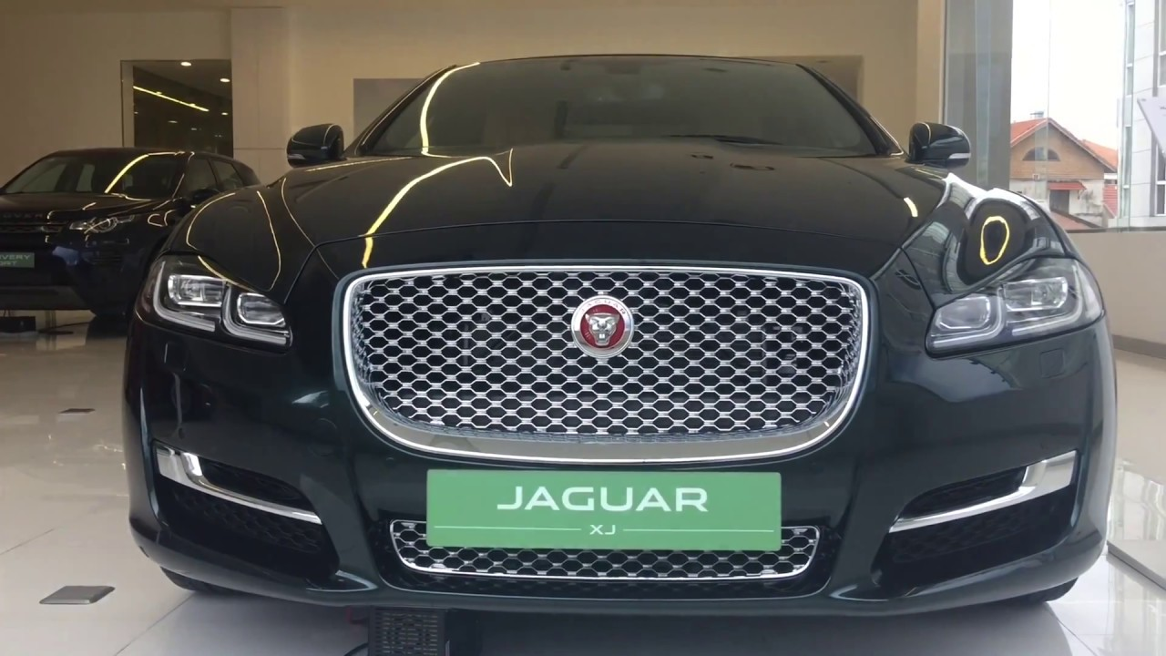 2018 New Jaguar XJ   Aintree Green Color