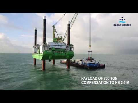 Barge Master  -   U.S. offshore wind feedering solution