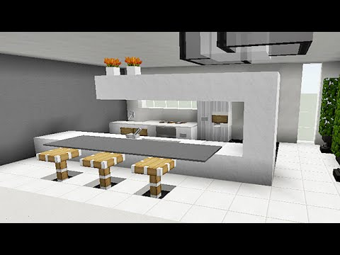minecraft tuto comment faire une cuisine download youtube. Black Bedroom Furniture Sets. Home Design Ideas