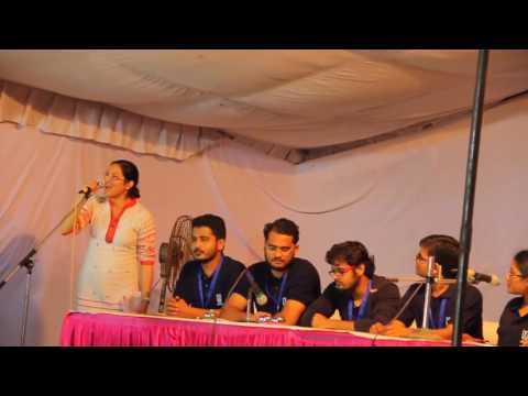 Cross Questions ABVP Candidate Janhavi: JNU Elections 2016 Presidential debate