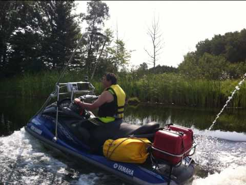 Waverunner PWC trip of the Trent Severn Waterway