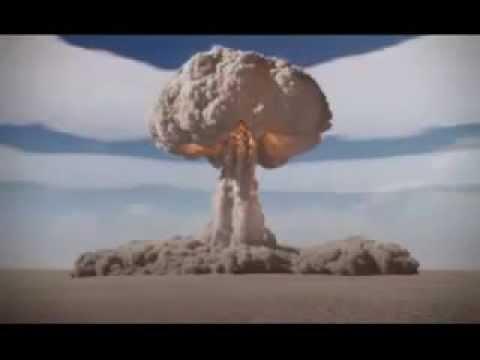 Bomba Nuclear Explodindo - Maior Teste Ja feito com bombas atomicas