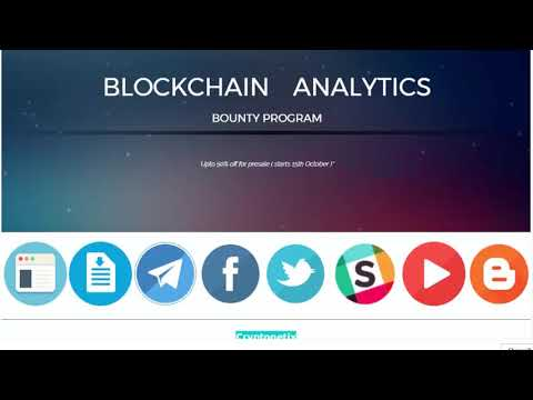 BOUNTY Cryptonetix - Blockchain Analytics, Funding and Portfolio Management