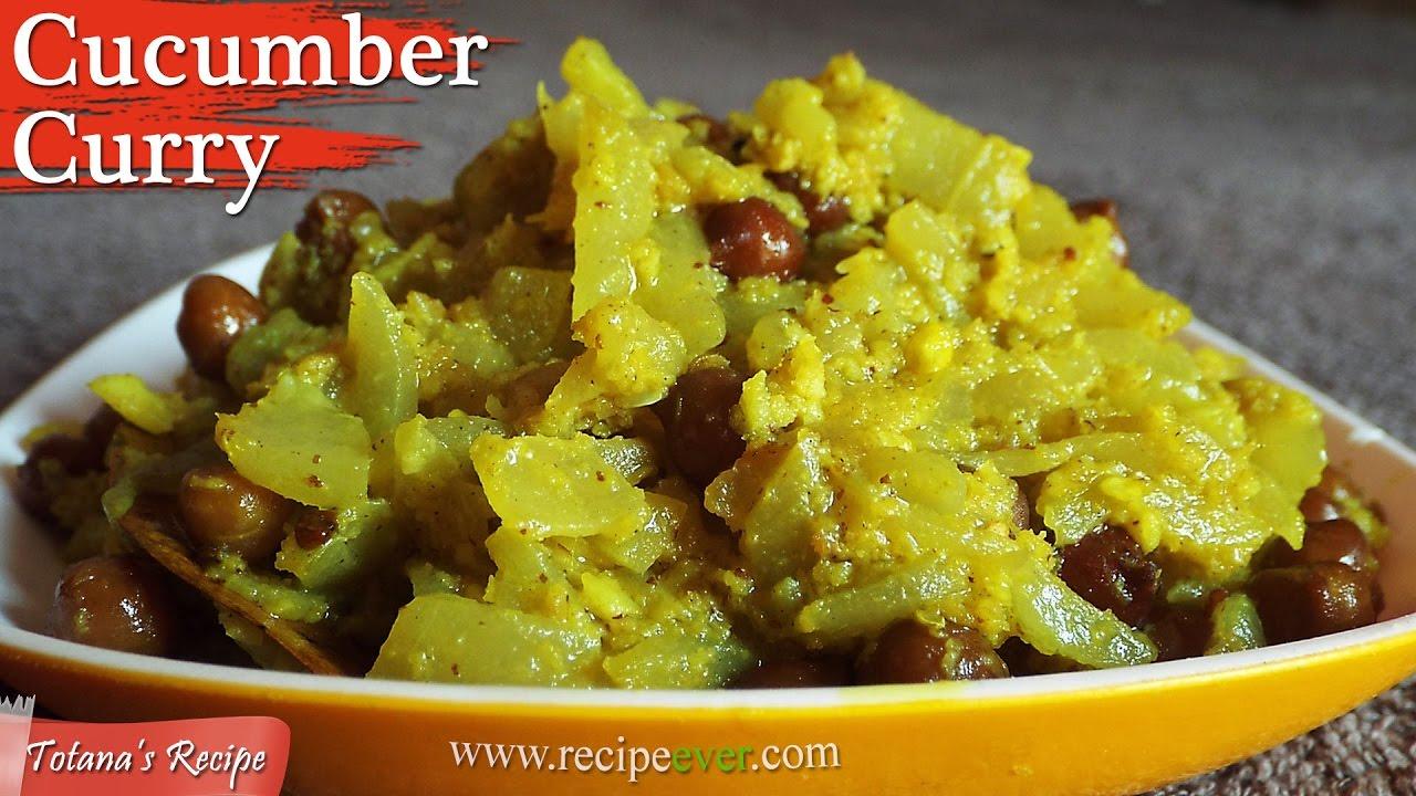 Cucumber curry recipe bengali veg recipes niramish ranna cucumber curry recipe bengali veg recipes niramish ranna vegetarian dish forumfinder Choice Image