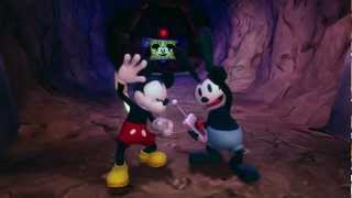 Disney Epic Mickey 2 The Power Of Two Official E3 Trailer