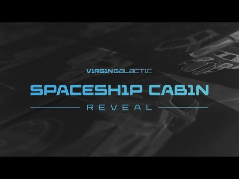 Virgin Galactic reveals VSS Unity cabin design