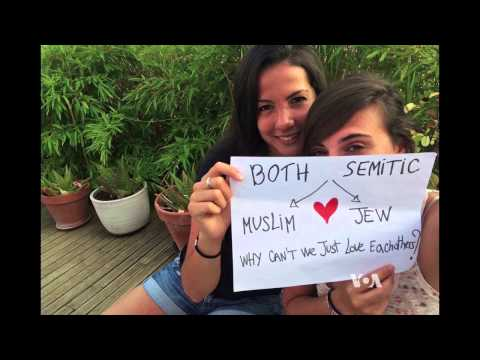 Jews and Arabs Campaign for Peace on Facebook, Twitter