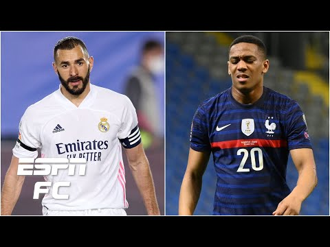 Karim Benzema or Anthony Martial? Who should France select for Euro 2020? | ESPN FC
